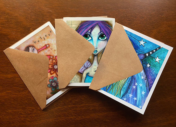 Faerie Love Greeting Card Set