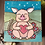 Thumbnail: For the love of a pig - wooden keepsake box
