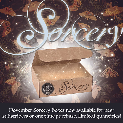 December Sorcery Box - Modern Witch Subscription Box