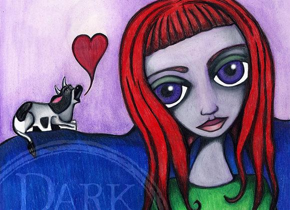 Vegan Girl 2006