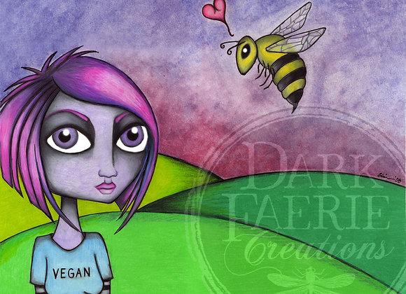 Jess the Vegan.