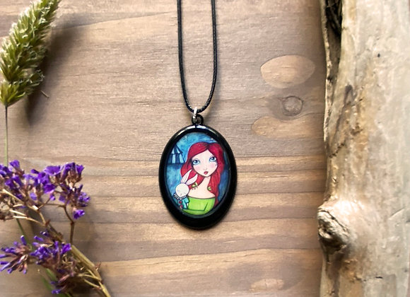 Resin Necklace - The Rescue