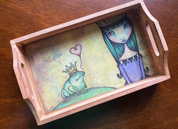 Frog Princess WoodenTray