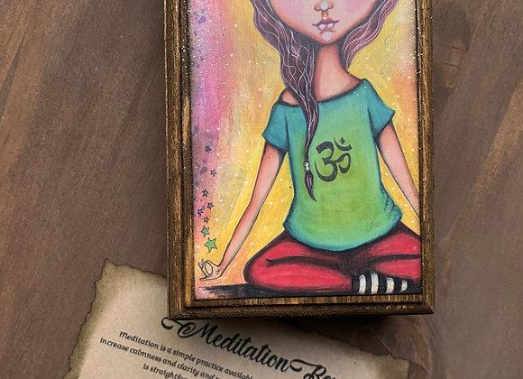 Om Meditation Box