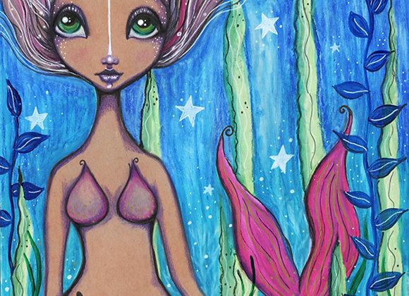 Magick Mermaid - Original Illustration