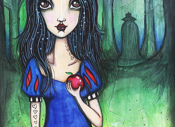Margaretha - Homage to Snow White - Original Illustration