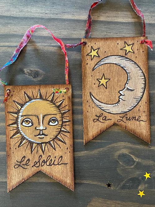 Sun & Moon - Wall Art