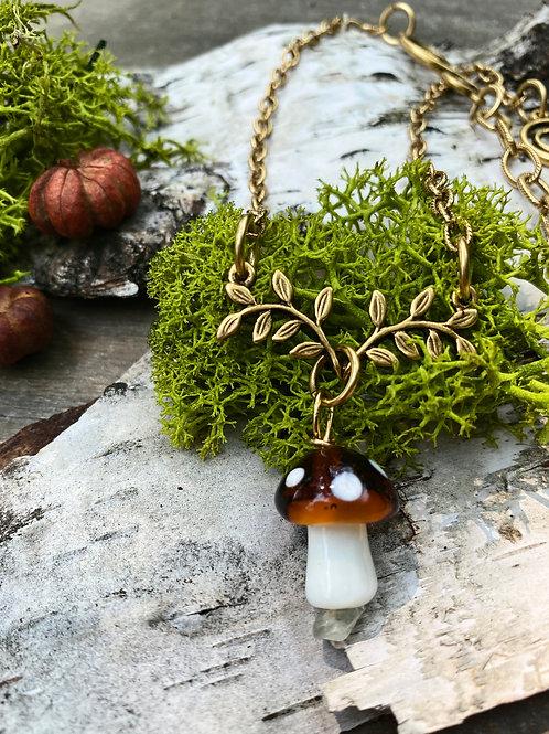 Enchanted Mushroom Necklace