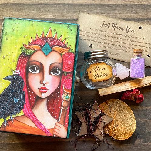 Altar Card Full Moon Box