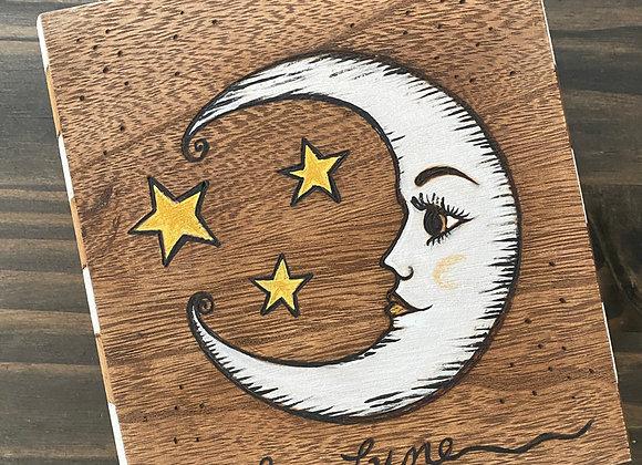 La Lune - Wooden Keepsake Box