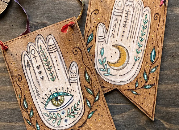 Palmistry Pair - Wall Art