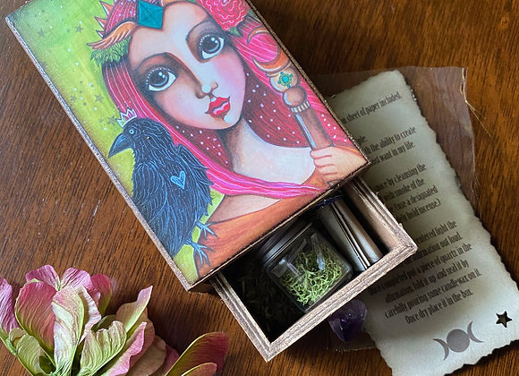 Personal Empowerment Mini Spell Box