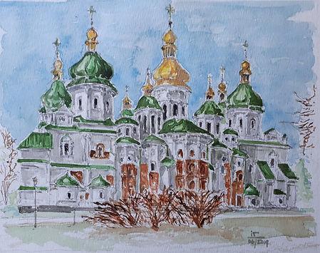 St Sophia Cathedral_Kyiv_Ukraine