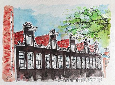 Row Houses_Amsterdam