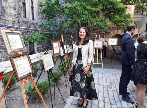 My First Exhibition: at the very Parliament!