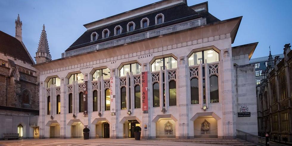 Meet-up at Guildhall Art Gallery & London's Roman Amphitheatre