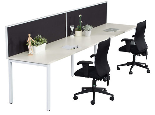 ACF Aura Single Workstation - with Screen