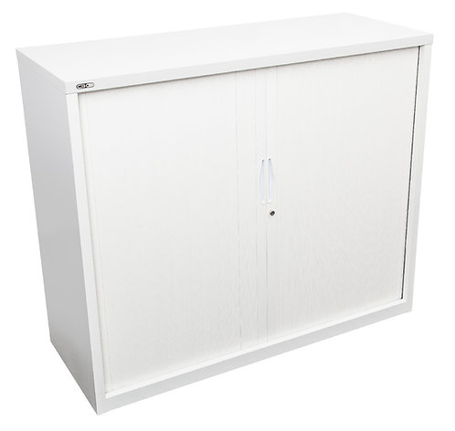 ACF Steel Tambour Unit with Shelves