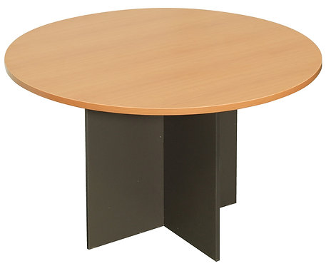 ACF Round Meeting Table - Melamine Base