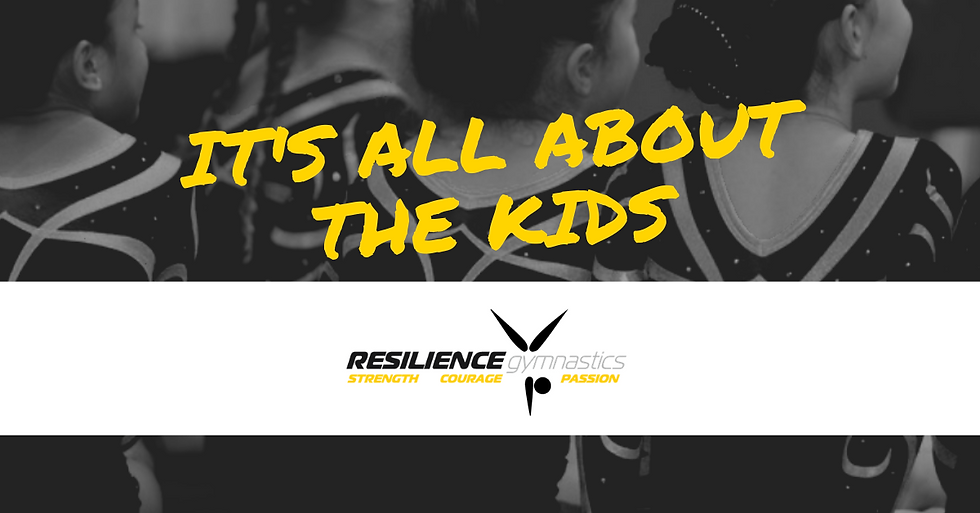 Facebook cover it's all about the kids (