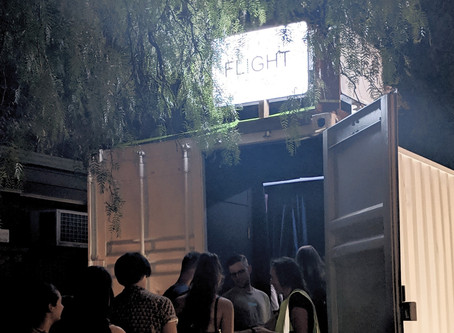 An Immersive, Unnerving Flight Inside a Shipping Container | BROADSHEET