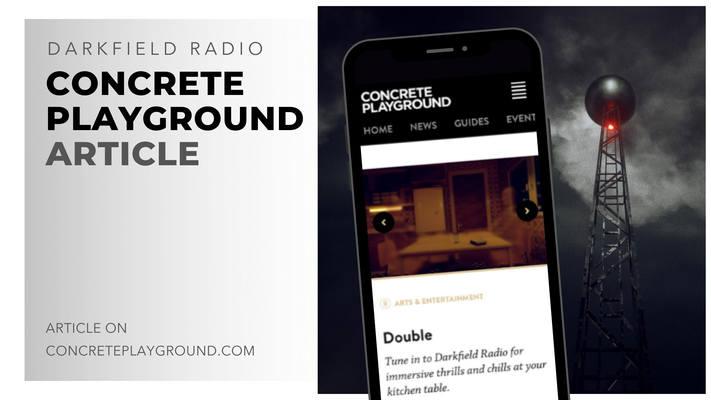 darkfield radio concrete playground arti