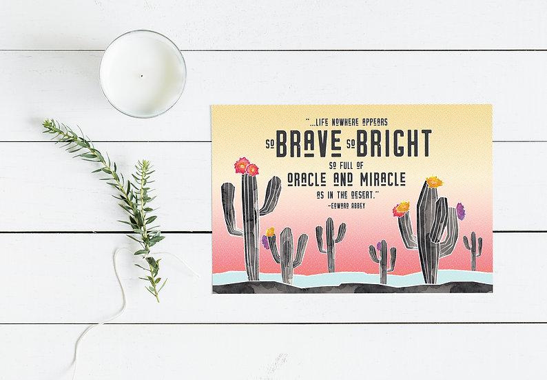 Desert Oracle Postcard