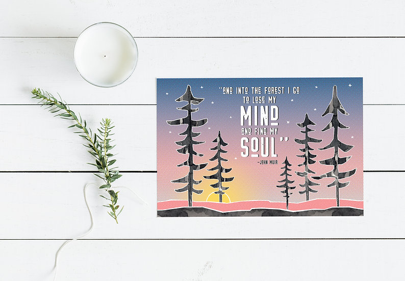 Forest Soul Postcard