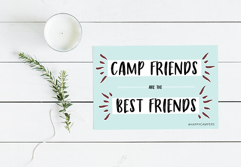 Summer Camp Themed Postcard Pack