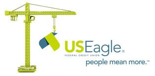 US Eagle - Construction Logo