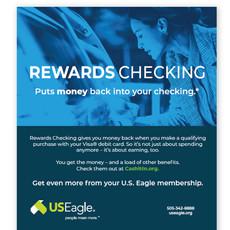 US Eagle - Perks Checking Mailer 1