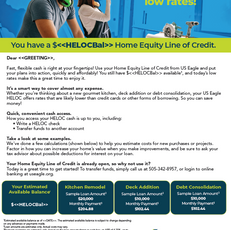 US Eagle - Home Equity Mailer