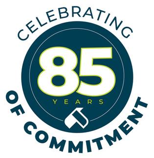 US Eagle - Celebrating 85 Years Logo