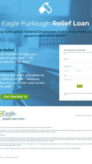 US Eagle - Furlough Relief Landing Page