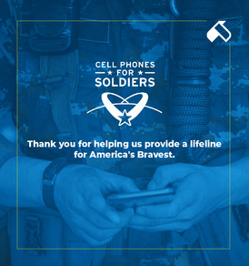US Eagl - Cellphones for Soldiers Social Media Ad