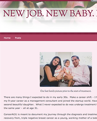 CancerAt31 Blog