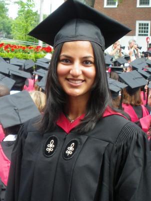 Parul at HBS Graduation