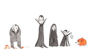 A Halloween family, personal work