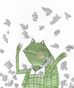 'The New Adventures of Mr Toad' book 1