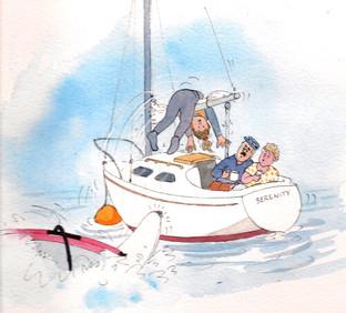 Illustration from RYA Go Windsurfing
