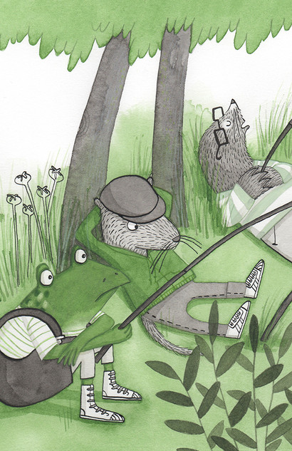 'The New Adventures of Mr Toad' book 3