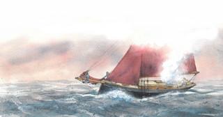 Illustration for Classic Boat magazine