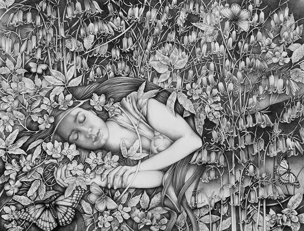 Sleeping Daisy - Orfeia (portrait of Joanne's daughter)