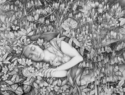 Sleeping Daisy - Orfeia (portrait of Joanne's daughter)