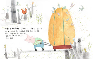 Personal work for the Three Little Pigs