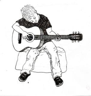 Chapter end illustration for 'Pebble' by Julia Jones