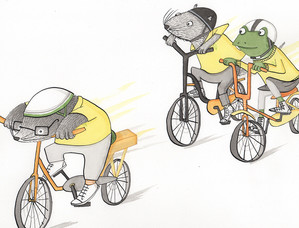 'The New Adventures of Mr Toad' book 4
