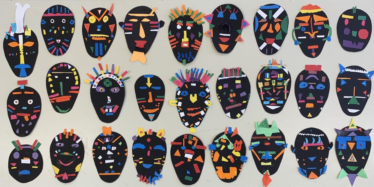 Arte Africana - Elaboração de Máscaras