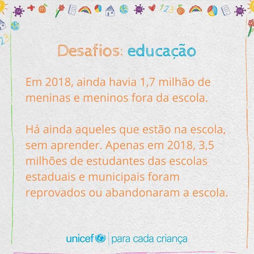 DESAFIOS: EDUCAÇÃO