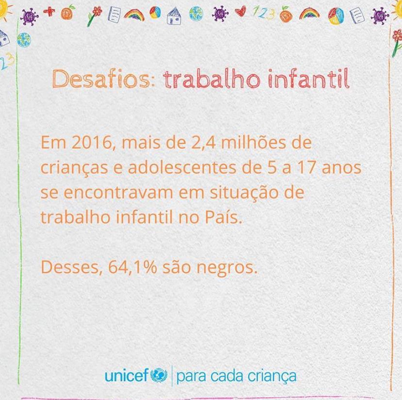 DESAFIOS: TRABALHO INFANTIL